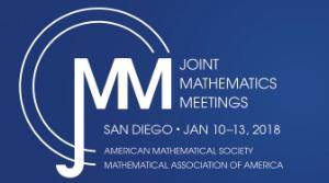 JMM2018 Minicourse #7 Starter Kit for Teaching Modeling-First Differential Equations Course Logo